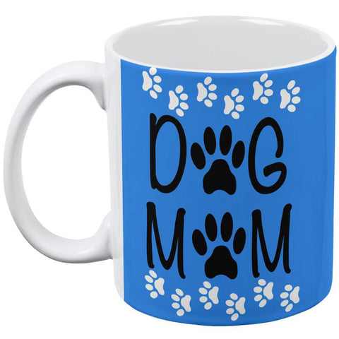 Dog Mom All Over Coffee Mug