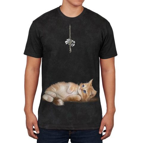 Simple Things Kitty Cat Playtoy Full Mens Soft T Shirt
