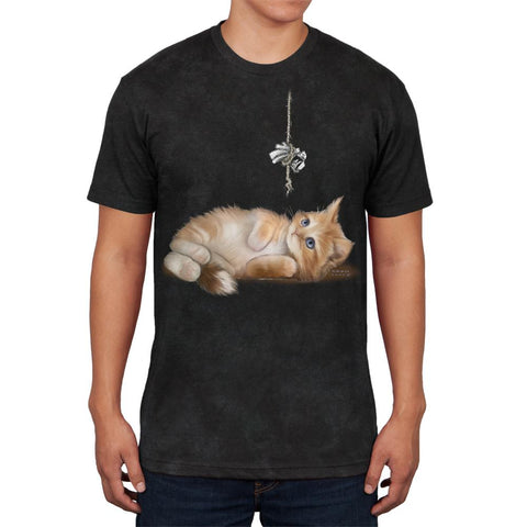 Simple Things Kitty Cat Playtoy Mens Soft T Shirt