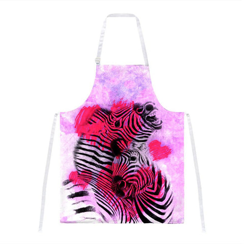 Zerba Lovers Valentines Hearts All Over Apron