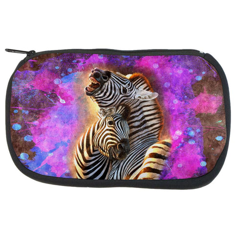 Zebra Lovers Splatter Travel Bag
