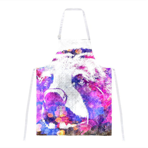 Spirit Bear Splatter All Over Apron