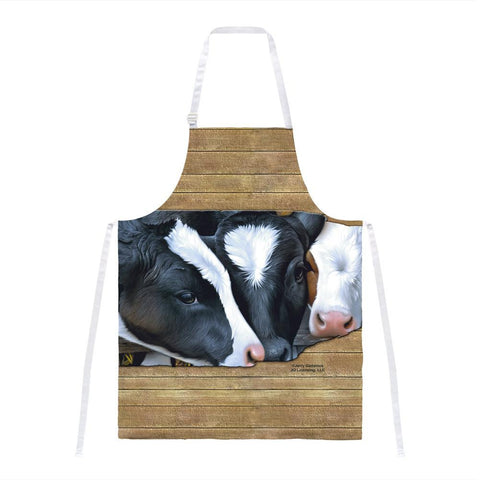 Queens of the Dairy Farm Cows All Over Apron