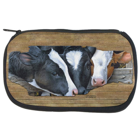 Queens of the Dairy Farm Cows Travel Bag