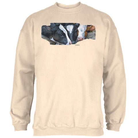 Queens of the Dairy Farm Cows Mens Sweatshirt