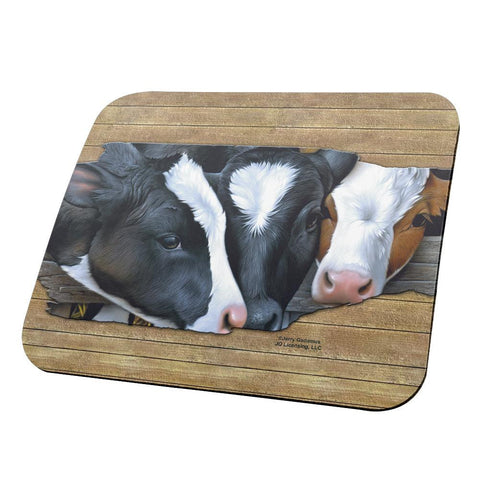 Queens of the Dairy Farm All Over Mouse Pad