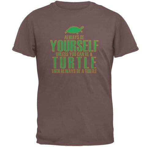 Always Be Yourself Turtle Mens T Shirt