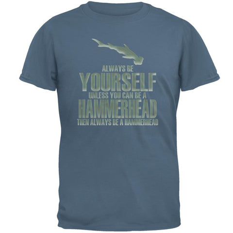 Always Be Yourself Hammerhead Mens T Shirt