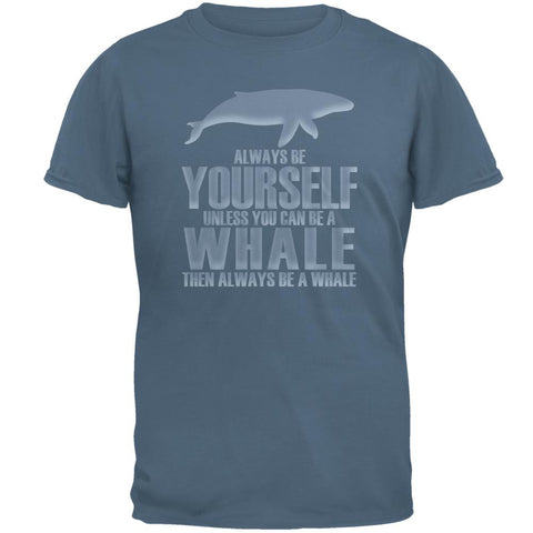 Always Be Yourself Whale Mens T Shirt