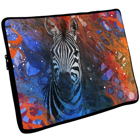 Abstract Art Zebra Laptop Sleeve 17 inch