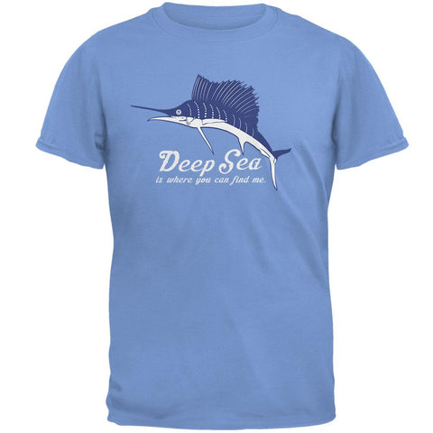 Deep Sea Marlin Mens T Shirt