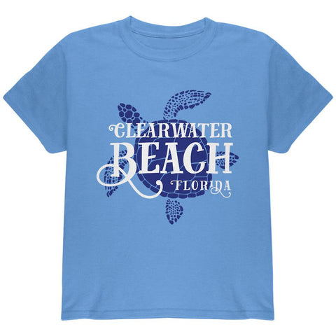 Summer Sun Sea Turtle Clearwater Beach Youth T Shirt