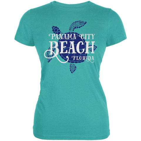 Summer Sun Sea Turtle Panama City Beach Juniors Soft T Shirt