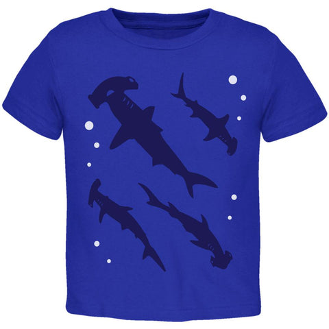 Hammerhead Shark Sharks School Toddler T Shirt