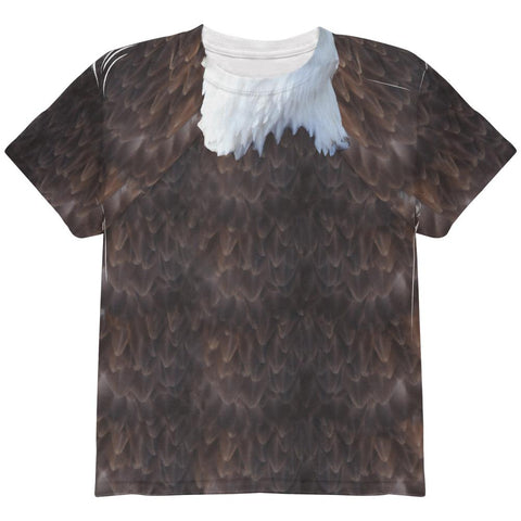 Halloween Bald Eagle Costume All Over Youth T Shirt