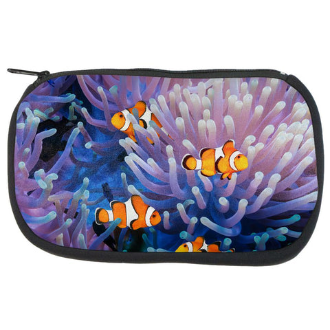 Clownfish Sea Anemone Makeup Bag