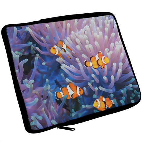 Clownfish Sea Anemone iPad Tablet Sleeve