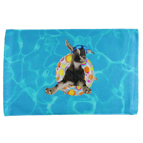 Whatever Floats Your Goat Boat Funny All Over Hand Towel