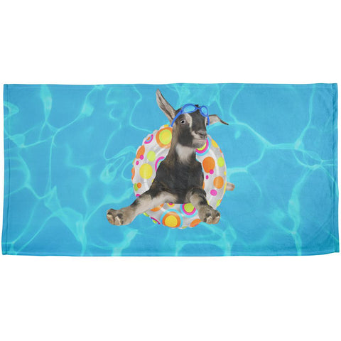 Whatever Floats Your Goat Boat Funny All Over Beach Towel