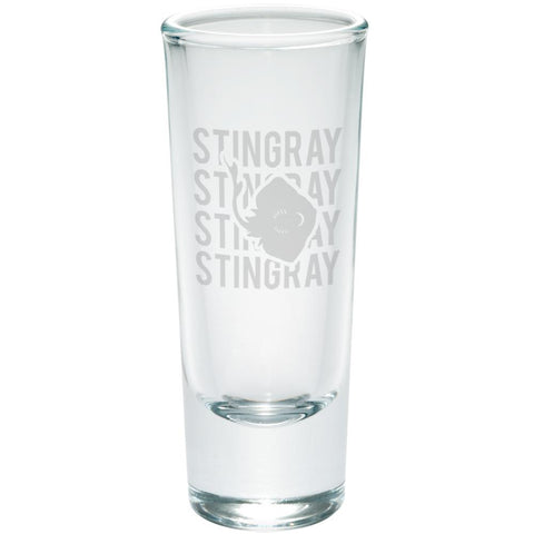 Stingray Stack Repeat Etched Shot Glass Shooter