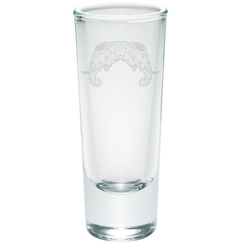 Tribal Mosaic Elephant Etched Shot Glass Shooter
