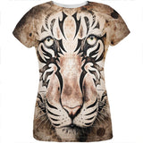 Tiger Eye Ghost And The Darkness All Over Womens T Shirt