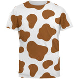 Halloween Costume Brown Spot Cow All Over Mens T Shirt
