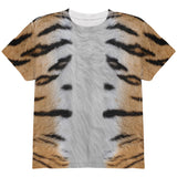 Halloween Tiger Costume All Over Youth T Shirt