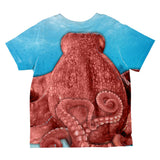 Halloween Octopus Costume All Over Toddler T Shirt