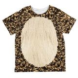 Halloween Hedgehog Costume All Over Toddler T Shirt