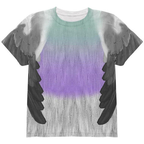 Halloween Pigeon Costume All Over Youth T Shirt