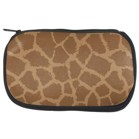 Giraffe Pattern Makeup Bag