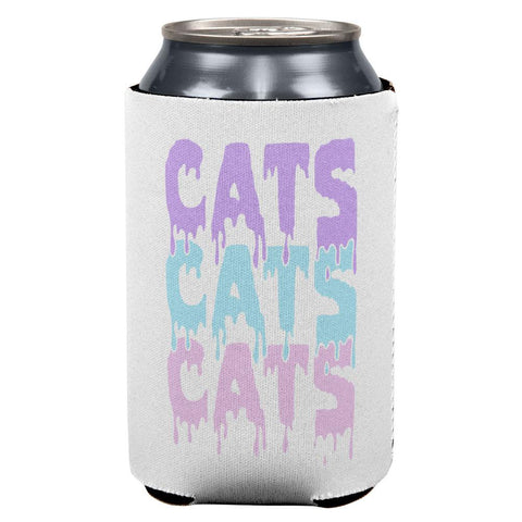 Halloween Cats All Over Can Cooler
