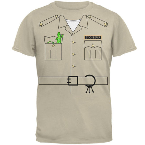 Halloween Zookeeper Costume Mens T Shirt