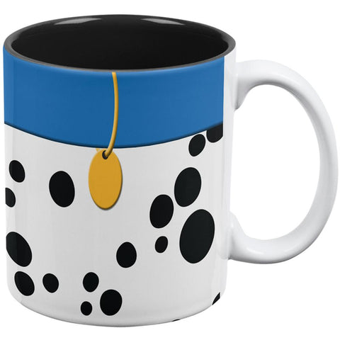 Dog Dalmatian Blue Collar All Over Coffee Mug