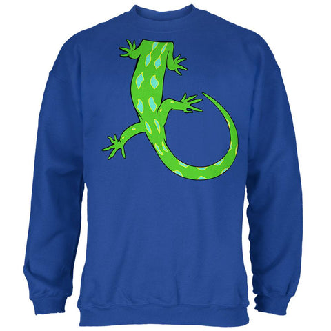 Halloween Lizard Body Costume Mens Sweatshirt