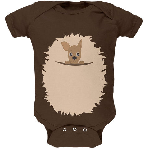 Halloween Kangaroo Costume Soft Baby One Piece