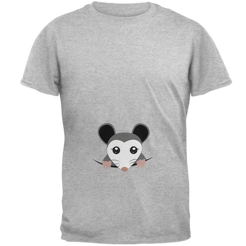 Halloween Peeking Possum Costume Mens T Shirt