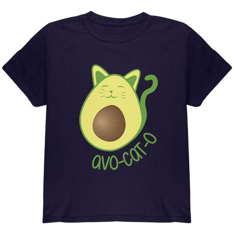 Avocado Cat Avocato Youth T Shirt