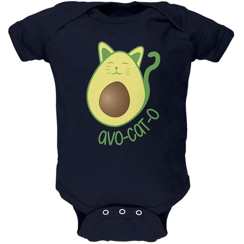 Avocado Cat Avocato Soft Baby One Piece