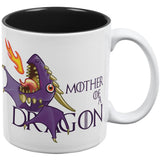 Mother of a Dragon Purple All Over Coffee Mug