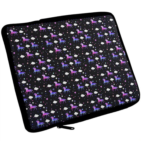 Galaxy Unicorn Pattern iPad Tablet Sleeve
