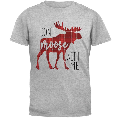 Autumn Don't Moose with Me Mens T Shirt