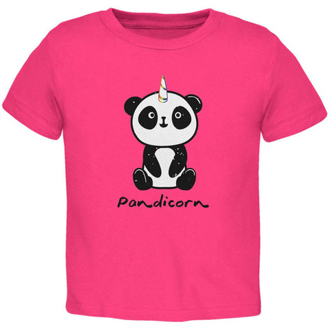 Pandicorn Panda Unicorn Toddler T Shirt
