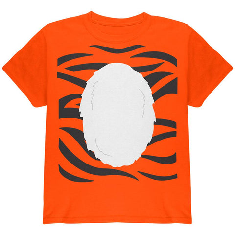 Halloween Tiger Costume Youth T Shirt