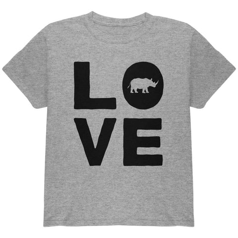 Rhino Love Youth T Shirt