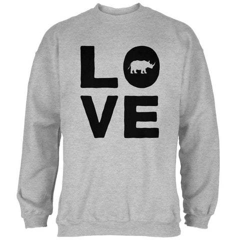 Rhino Love Mens Sweatshirt