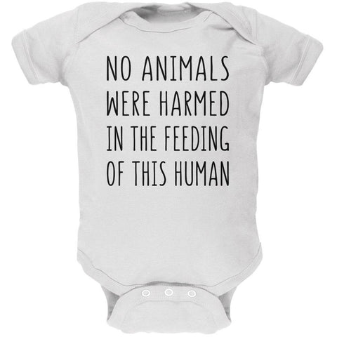 Activist No Animals Were Harmed in the Feeding of this Human Soft Baby One Piece