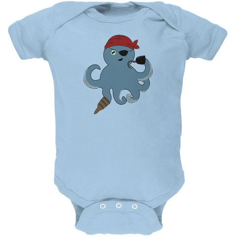 Cute Pirate Octopus Soft Baby One Piece