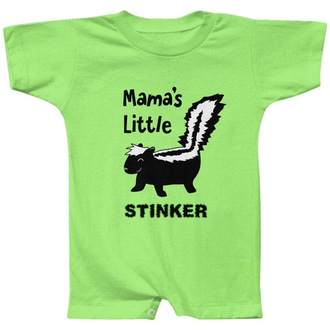 Skunk Mama's Little Stinker Baby Romper